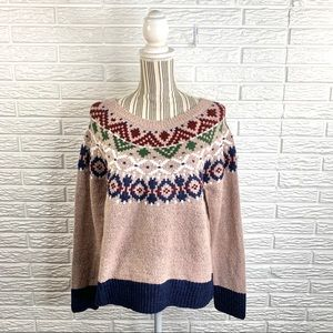 Blush & Bloom Multicolored Knit Sweater